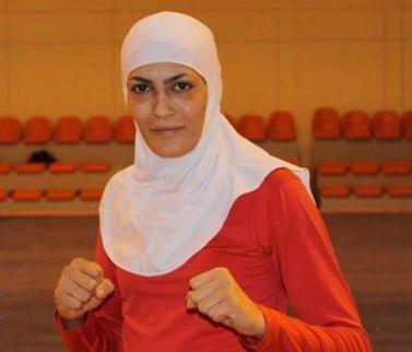 2013 Wushu Championship - Elaheh Mansourian - Gold Medalist in women's sanda 52kg category