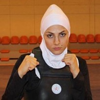 Gold medalist in women's sanda 65kg category at the 2013 World Wushu Championship