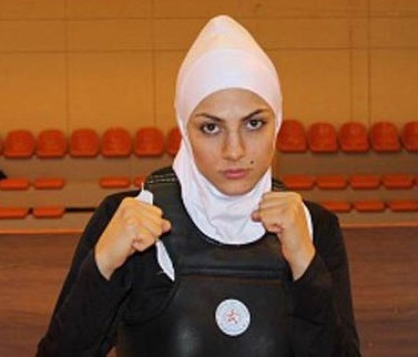 2013 Wushu Championship - Maryam Hashemi - Gold Medalist in women's sanda 65kg category