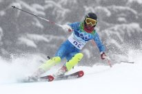 Kalhor, Marjan - Iranian alpine skier - 2010 Vancouver Winter Olympics - Foto Clive Mason for Getty Images