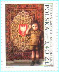 Polish stamp 2