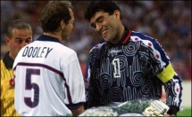 1998 FIFA World Cup - USA-Iran - Pre-Match - Captains shake hands 2