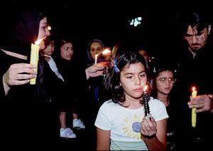 Tehran, Iran - 2001 - Candlelit vigil for 911 victims 11 - time.com - photo REUTERS