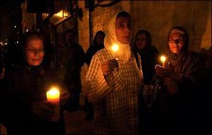 Tehran, Iran - 2001 - Mohsen Sq, Tehran - Candlelit vigil for 911 victims 15 - time.com - photo by H. Sarbakhshin (AP)