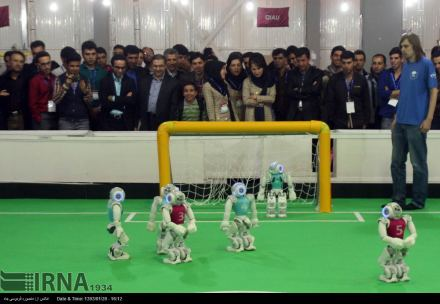 9th RoboCup Iran Open international competition kicked of in Iran, with 388 teams from US, UK, France, Portugal, Italy, Germany, ...