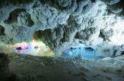 Nakhcheer Cave in Markazi Province, Iran (Photo credit: IRNA)