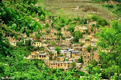 Masuleh - Village in northern Iran