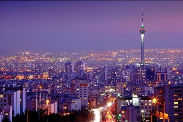 TEHRAN_Night Skyline