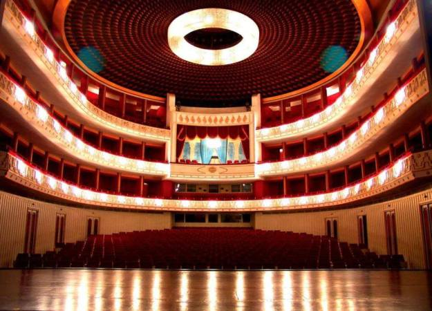 Tehran, Iran Roudaki Opera House aka as Vahdat Hall