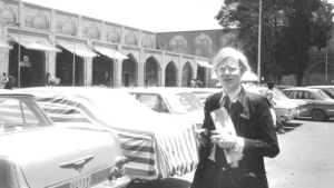 Andy Warhol in Isfahan 1976