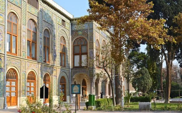 Iran, Tehran, Golestan Palace