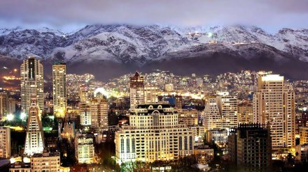 Tehran, Iran-Night