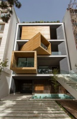 Sharifi-ha House in Tehran, Iran by Nextoffice - Alireza Taghaboni (Photo courtesy of nextoffice)