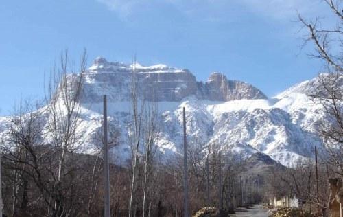 Yazd, Iran, Terzejan Glacier
