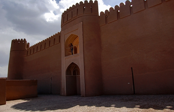 Adobe castle of Rayen Rayen Kerman Iran - arg-e-rayensh