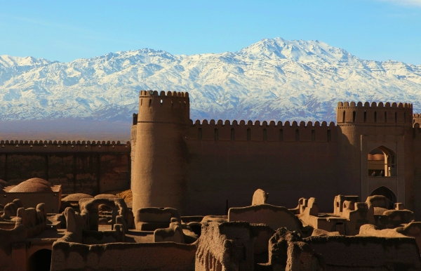Adobe castle of Rayen Rayen Kerman Iran