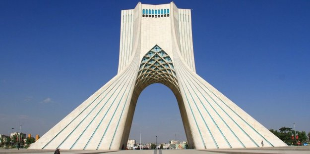 The Azadi tower (freedom tower) is an impressive gateway to the city, built to symbolize 2,500 years of Persian culture.