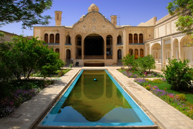 Boroujerdi's House in Kashan, Iran