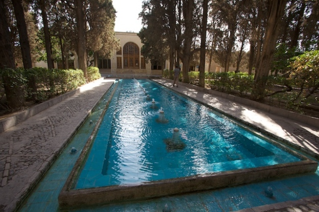 Fin Garden (or Bagh-e Fin) in Kashan, Esfahan Province, Iran