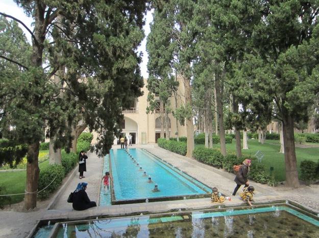Fin Garden in Kashan, Esfahan Province, Iran