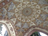 Esfahan, Kashan - Fin Garden Teil 3-02 - Architectural Detail
