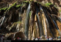Fars, Iran - Sepidan County - Abshare Margoon (waterfall) near Sepidan_06