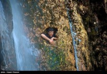Fars, Iran - Sepidan County - Abshare Margoon (waterfall) near Sepidan_08