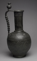 Razavi Khorasan, Iran - Ancient Nishapur - Ewer with inscriptions and hunting scenes (11th century) - Rogers Fund 1938 hb_38.40.240