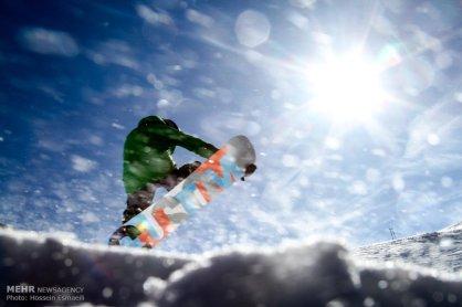 Tehran, Iran - Tehran, Tochal Ski Resort 05