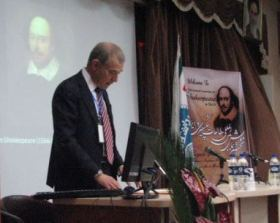 Tehran, Iran - University of Tehran, Conference on Shakespeare Studies 2014 - 00