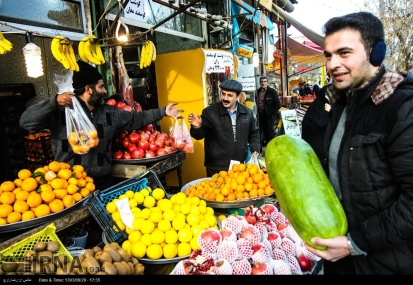 Tehran, Iran - Yalda Night Preparations 14
