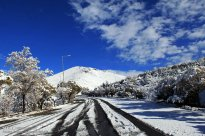 Zanjan, Iran - Zanjan's Autumn Snowfall 03