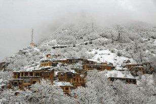 Gilan Province, Iran - Masuleh, Snow 00