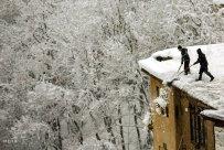 Gilan Province, Iran - Masuleh, Snow 04