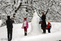 Gilan Province, Iran - Masuleh, Snow 06