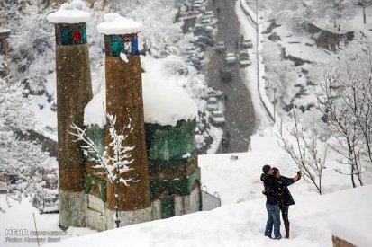 Gilan Province, Iran - Masuleh, Snow 13