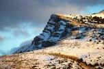 Iran Chahar Bagh Alborz Mountains Snow 10