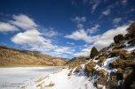 Iran Chahar Bagh Alborz Mountains Snow 2