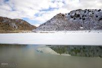 Iran Chahar Bagh Alborz Mountains Snow 4