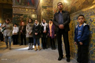 Iran Christmas Christians Church -11