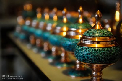 Iranian Art - Handicrafts - Inlaid Turquoise 08