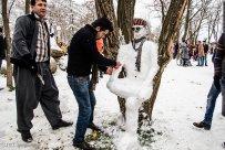 Kurdistan Province, Iran - Marivan, Snowman Festival 03