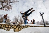 Kurdistan Province, Iran - Marivan, Snowman Festival 07