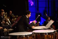Tehran, Iran - Shahrdad Rohani conducts orchest in Tehran 2015 Jan 05