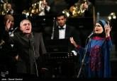 Azeri singer Qasimov performs in Iran with Tehran's Wind Orchestra 04