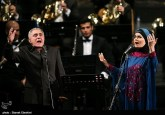 Azeri singer Qasimov performs in Iran with Tehran's Wind Orchestra 04