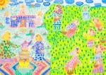 International Environmental Children Drawing Contest - Mahtab Esfandiari Iran Age 9 - Honorable Mention