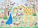 International Environmental Children Drawing Contest - Masoomeh Khodaei Iran Age 10  - First Prize