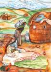 International Environmental Children Drawing Contest - Saeari Sodabeh Iran Age 15  - First Prize