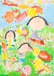 International Environmental Children Drawing Contest - Sana Khojasteh Far Iran Age 6  - Honorable Mention